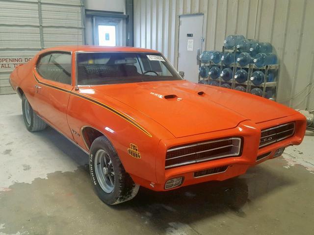 1969 Pontiac Gto judge . Lot 51226029 Vin 242379R176129