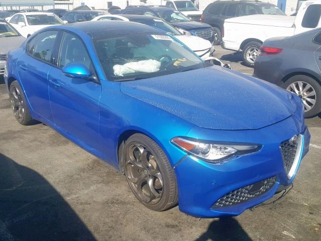 click here to view 2018 ALFA ROMEO GIULIA TI at IBIDSAFELY