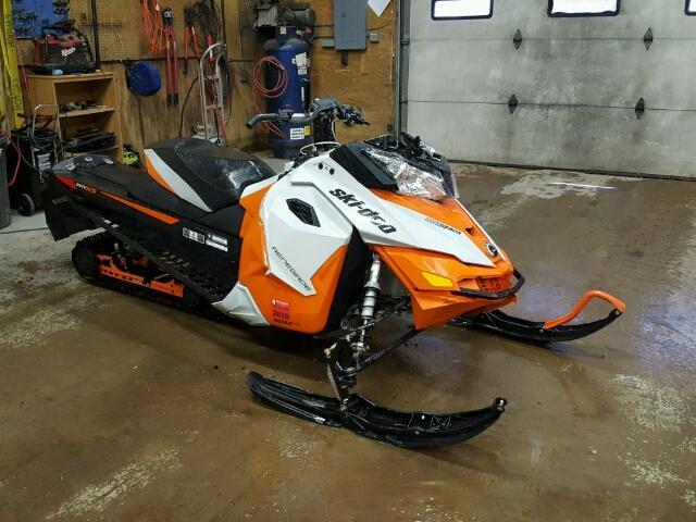 Salvage S | 2015 Skid Snowmobile