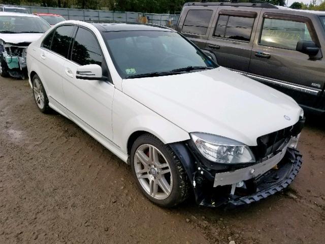 2010 Mercedes-benz C 350 3.5. Lot 51953489 Vin WDDGF5GB7AR113724