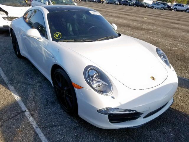 2015 Porsche 911 carrer 3.4. Lot 52401299 Vin WP0AA2A92FS106196