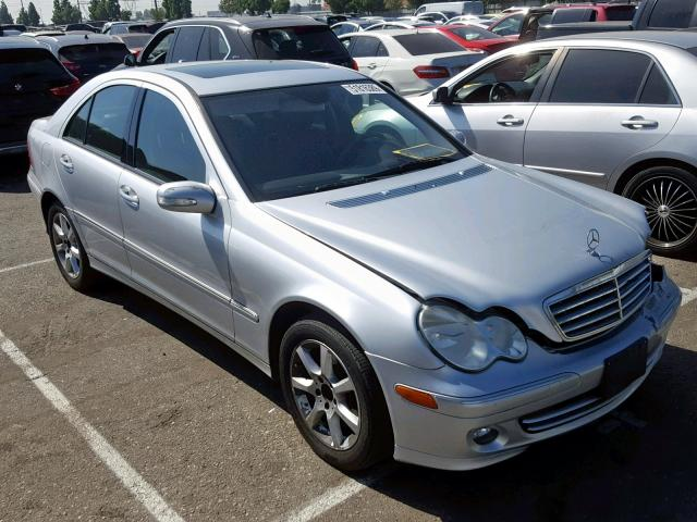 2007 Mercedes-benz C 280 4mat 3.0. Lot 51816389 Vin WDBRF92H57F876193