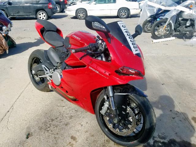 2017 Ducati Superbike . Lot 51096569 Vin ZDM14B1W9HB005595