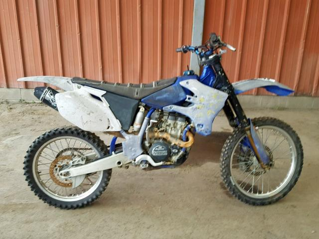 click here to view 2005 YAMAHA YZ250 F at IBIDSAFELY
