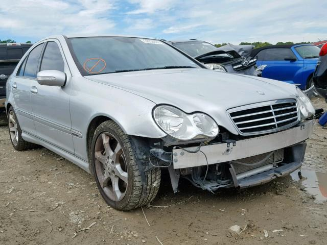 2007 Mercedes-benz C 230 2.5. Lot 52839989 Vin WDBRF52HX7F858040