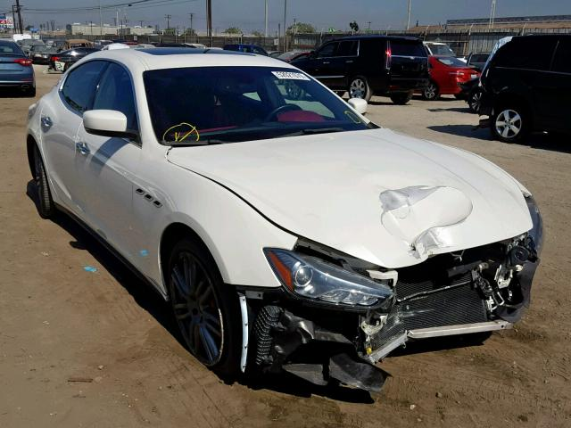 click here to view 2015 MASERATI GHIBLI S at IBIDSAFELY