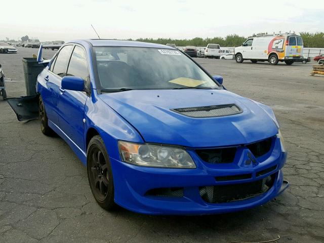 click here to view 2003 MITSUBISHI LANCER EVO at IBIDSAFELY