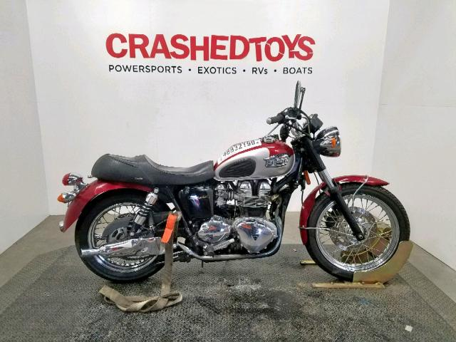 click here to view 2001 TRIUMPH MOTORCYCLE BONNEVILLE at IBIDSAFELY