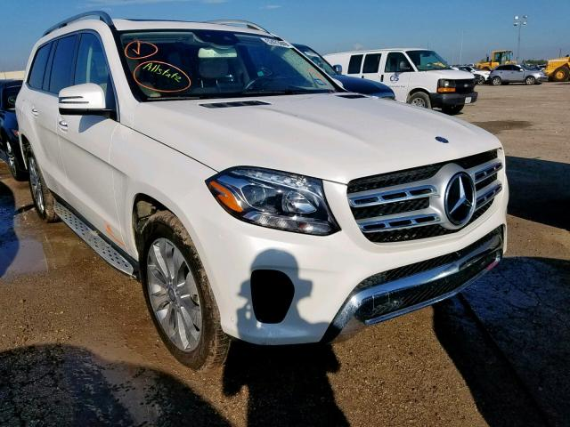 2017 Mercedes-benz Gls 450 4m 3.0. Lot 52473849 Vin 4JGDF6EE5HA832748