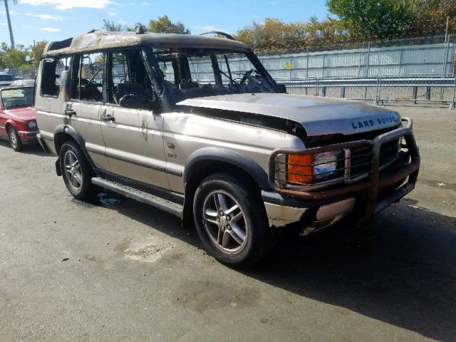 2002 Land rover Discovery 4.0. Lot 60075819 Vin SALTW12432A769471