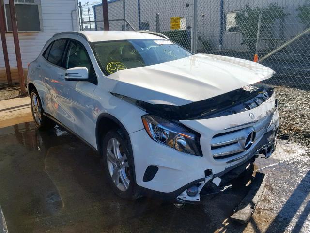 2017 Mercedes-benz Gla 250 4m 2.0. Lot 53195339 Vin WDCTG4GB1HJ315204