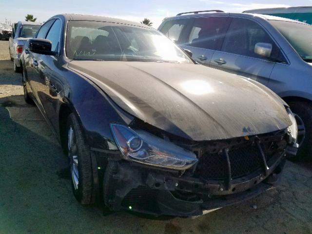 2014 Maserati Ghibli 3.0. Lot 53404399 Vin ZAM57XSA2E1089454