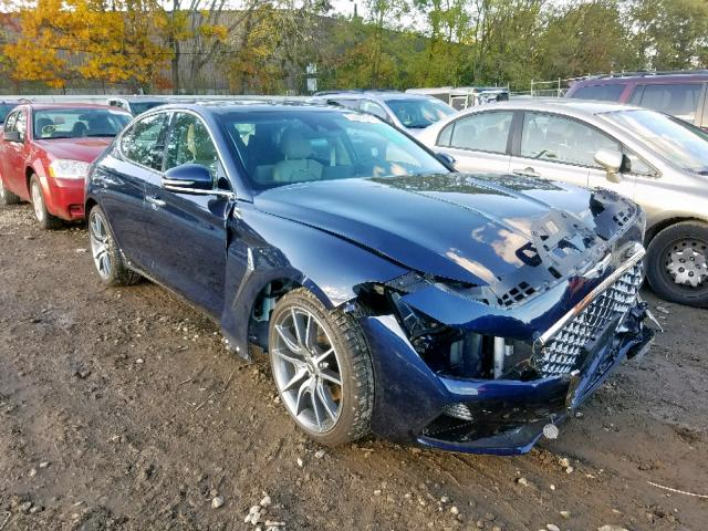 click here to view 2019 GENESIS G70 PRESTI at IBIDSAFELY