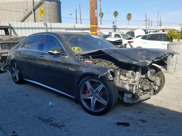 2016 Mercedes-benz S 63 amg 5.5. Lot 53723399 Vin WDDUG7JB8GA205193