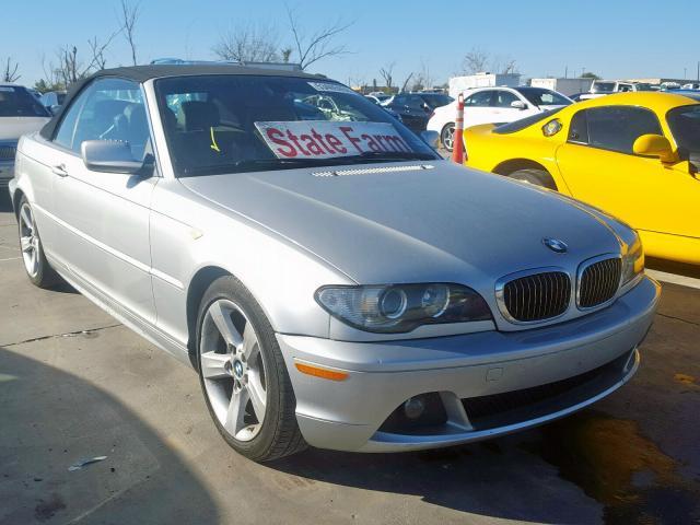 2005 BMW 325 ci 2.5. Lot 53405059 Vin WBABW33445PL39072