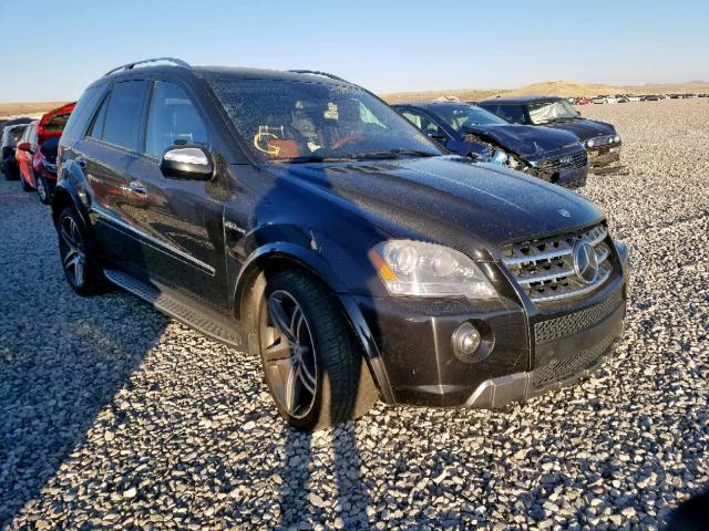 2010 Mercedes-benz Ml 63 amg 6.2. Lot 53890659 Vin 4JGBB7HB3AA603968