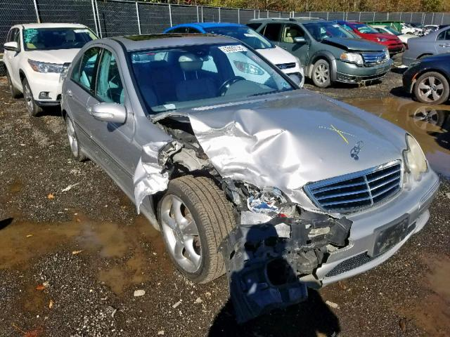 click here to view 2005 MERCEDES-BENZ C 230K SPO at IBIDSAFELY