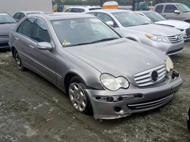 2006 Mercedes-benz C 280 4mat 3.0. Lot 53511909 Vin WDBRF92H66F786405