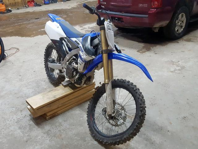 click here to view 2016 YAMAHA YZ450 F at IBIDSAFELY