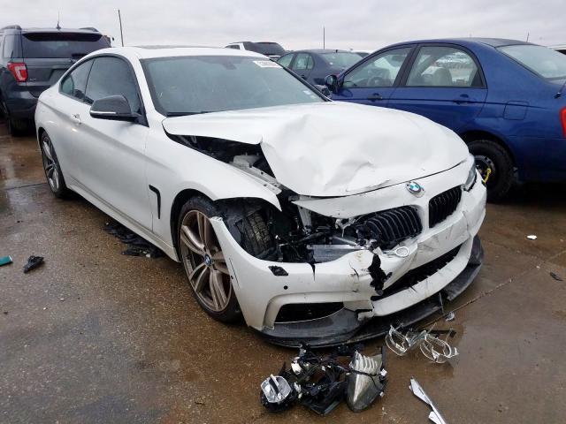 2015 BMW 435 i 3.0. Lot 53692049 Vin WBA3R1C51FK195780