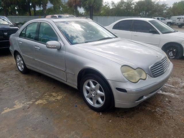 2002 Mercedes-benz C 240 2.6. Lot 54646389 Vin WDBRF61J62F187002