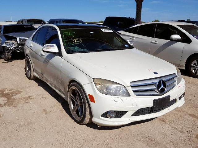 2009 Mercedes-benz C 350 3.5. Lot 54707819 Vin WDDGF56X59R059865