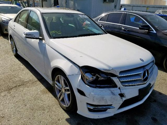 2013 Mercedes-benz C 250 1.8. Lot 55056439 Vin WDDGF4HB0DR292332