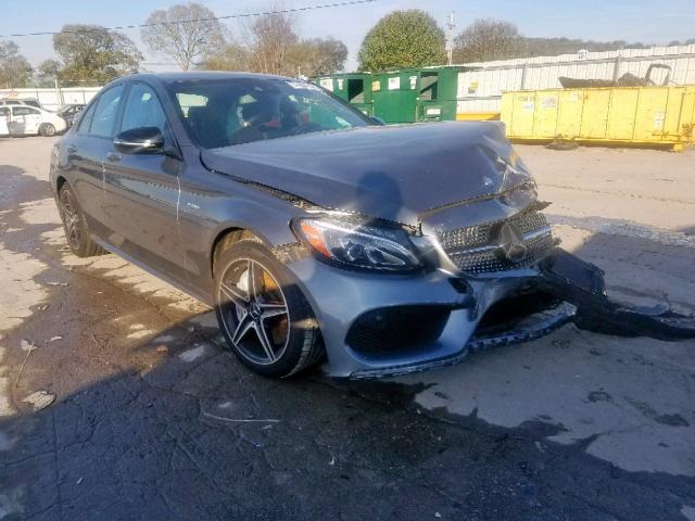 2017 Mercedes-benz C 43 4mati 3.0. Lot 53960519 Vin 55SWF6EB2HU208379