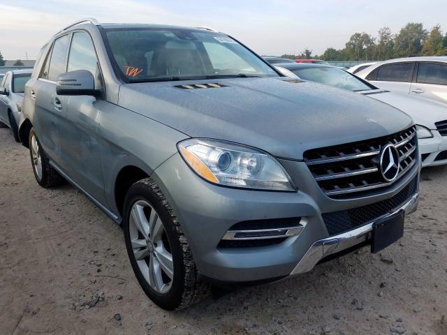 2014 Mercedes-benz Ml 350 4ma 3.5. Lot 54786649 Vin 4JGDA5HB0EA435230
