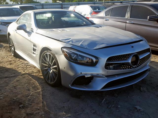 click here to view 2017 MERCEDES-BENZ SL 450 at IBIDSAFELY