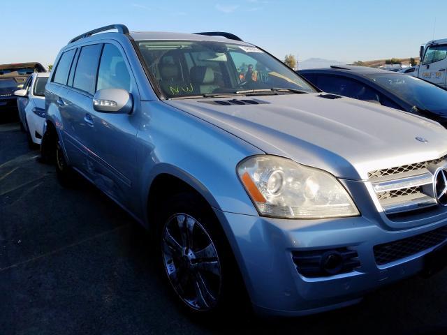2007 Mercedes-benz Gl 450 4ma 4.7. Lot 54543789 Vin 4JGBF71E47A269368