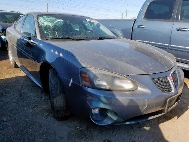 2008 Pontiac Grand prix 3.8. Lot 54691119 Vin 2G2WP552781167358