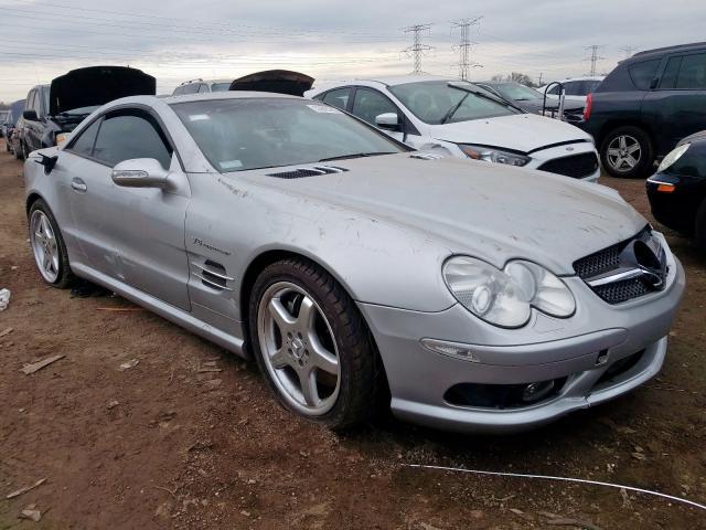 2003 Mercedes-benz Sl 55 amg 5.5. Lot 53595299 Vin WDBSK74F13F044048