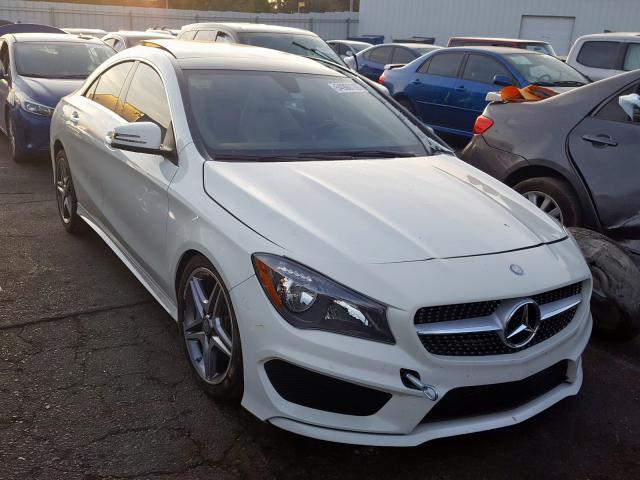 2015 Mercedes-benz Cla 250 2.0. Lot 54960109 Vin WDDSJ4EB4FN168961