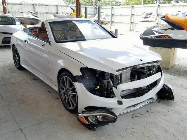 2018 Mercedes-benz C 43 4mati 3.0. Lot 55360569 Vin WDDWK6EBXJF643946