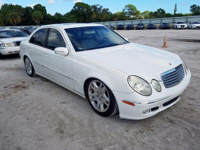 2004 Mercedes-benz E 500 5.0. Lot 55638999 Vin WDBUF70J64A494767
