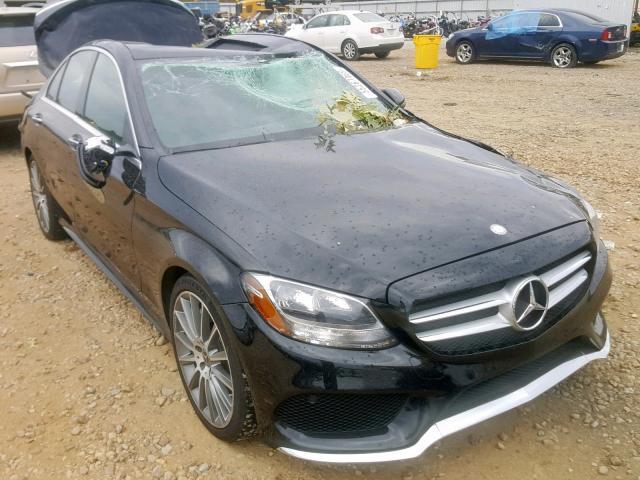 2017 Mercedes-benz C 300 2.0. Lot 55267469 Vin 55SWF4JB9HU230549