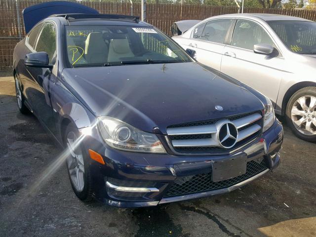 2012 Mercedes-benz C 350 4mat 3.5. Lot 55502209 Vin WDDGJ8JB3CF906838