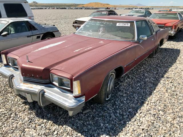click here to view 1975 OLDSMOBILE TORONADO at IBIDSAFELY