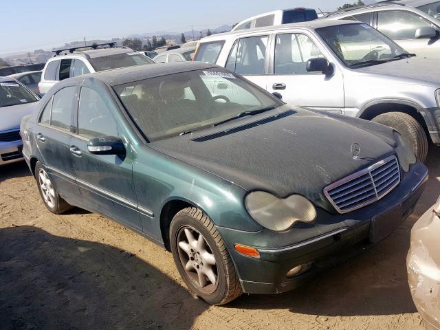 2003 Mercedes-benz C 240 2.6. Lot 55601669 Vin WDBRF61J53F300858