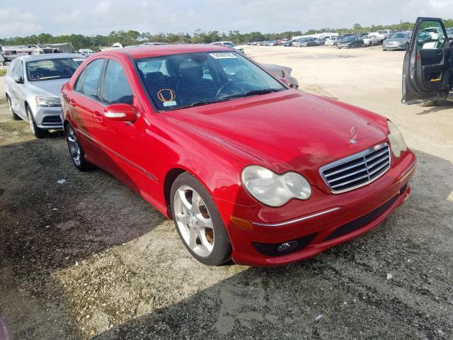 2007 Mercedes-benz C 230 2.5. Lot 54388109 Vin WDBRF52H97F877663