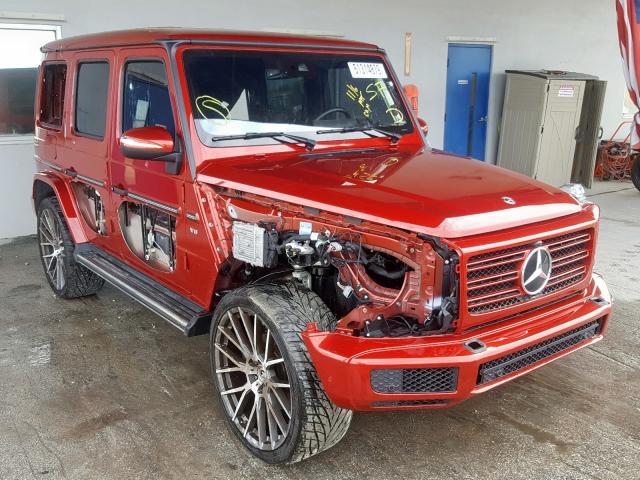 2019 Mercedes-benz G 550 4.0. Lot 51314879 Vin WDCYC6BJ0KX305313
