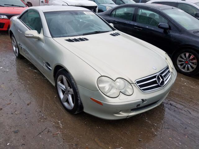 2003 Mercedes-benz Sl 500r 5.0. Lot 56589799 Vin WDBSK75F23F009503