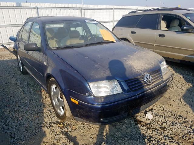 2001 Volkswagen Jetta glx 2.8. Lot 56443559 Vin 3VWTG69M01M206206