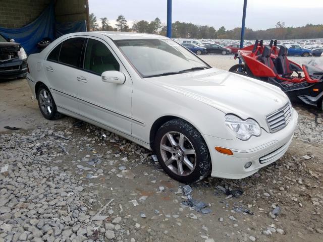 2007 Mercedes-benz C 280 3.0. Lot 54001979 Vin WDBRF54H57F852241