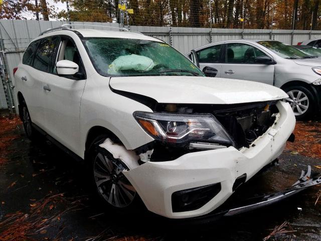 2017 Nissan Pathfinder 3.5. Lot 56251159 Vin 5N1DR2MN3HC912488