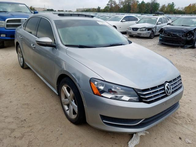 2012 Volkswagen Passat se 2.0. Lot 57346979 Vin 1VWBN7A37CC075032