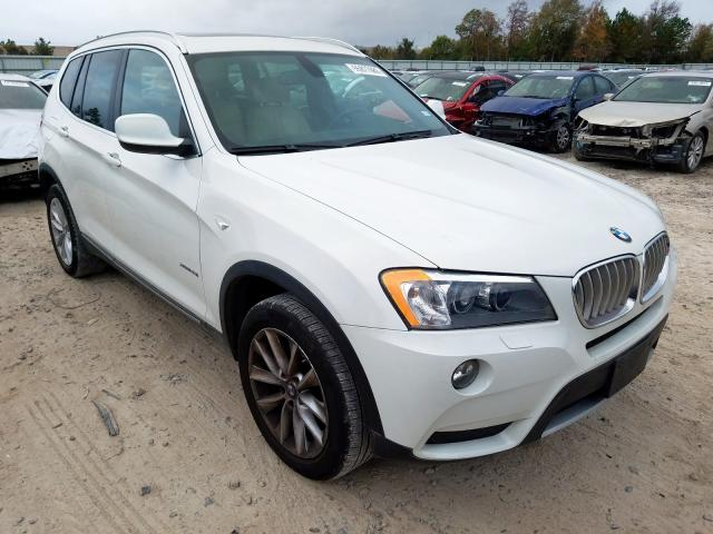 2012 BMW X3 xdrive2 3.0. Lot 55827089 Vin 5UXWX5C54CL720414