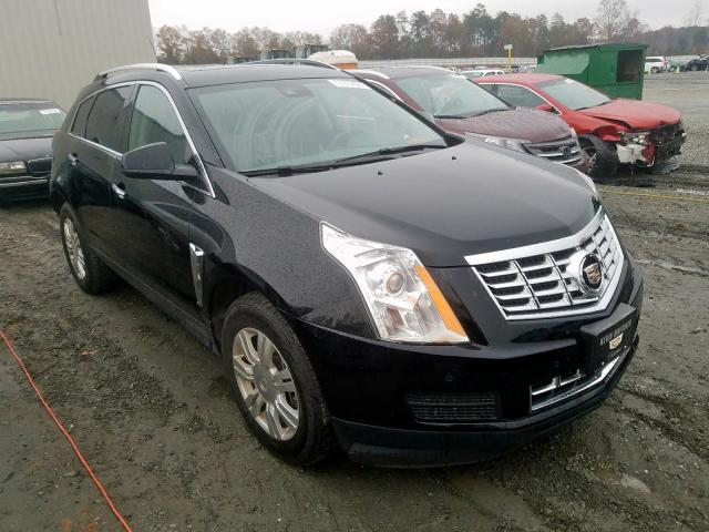 Cadillac Srx Luxury 2016 Black 3 6 Vin