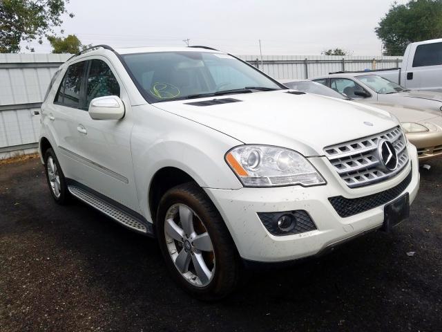 2009 Mercedes-benz Ml 350 3.5. Lot 57263479 Vin 4JGBB86EX9A491071